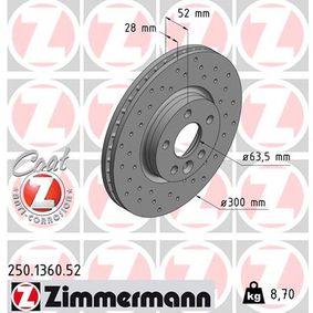 Bremsscheibe Art. Nr. 250.1360.52 120,00€