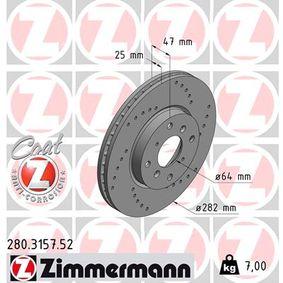 Bremsscheibe Art. Nr. 280.3157.52 120,00€