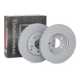 Bremsscheibe Ø: 288mm mit OEM-Nummer A 210 421 2412 64