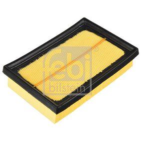 Luftfilter Länge: 177mm, Breite: 118,0mm, Höhe: 39mm, Länge: 177mm mit OEM-Nummer 17801-21060