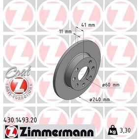 Bremsscheibe Art. Nr. 430.1493.20 120,00€