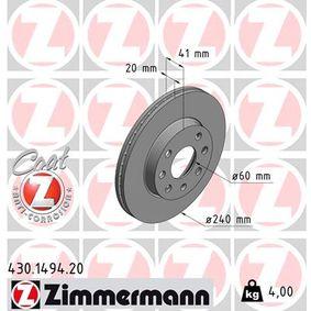 Bremsscheibe Art. Nr. 430.1494.20 120,00€