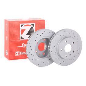 Bremsscheibe Bremsscheibendicke: 30mm, Felge: 5-loch, Ø: 296mm mit OEM-Nummer 5 69 078