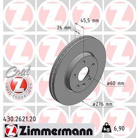 Bremsscheibe Ø: 276mm mit OEM-Nummer 509 069