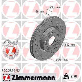 Bremsscheibe Art. Nr. 590.2592.52 120,00€