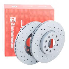ZIMMERMANN SPORT COAT Z 600.3221.52 Спирачен диск Ø: 288мм