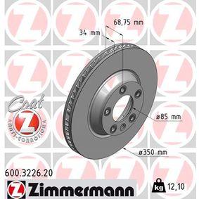 Bremsscheibe Art. Nr. 600.3226.20 120,00€