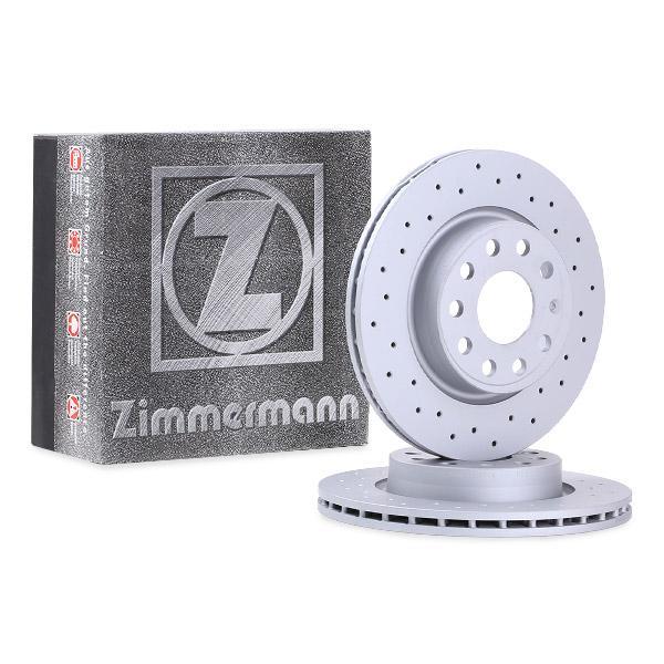 Δισκόπλακα ZIMMERMANN 600.3233.52 ειδική γνώση