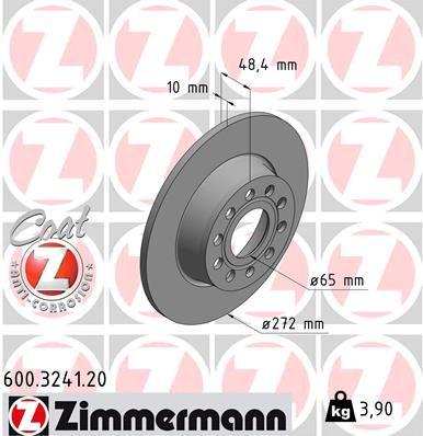 Bremsscheibe ZIMMERMANN 600.3241.20 Erfahrung