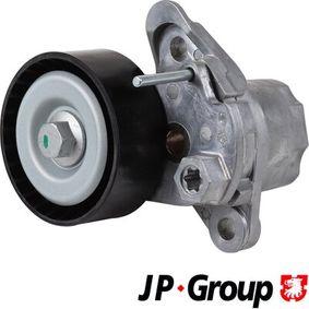 Polo 6r 1.0TSI Riemenspanner, Keilrippenriemen JP GROUP 1118204500 (1.0 TSI Benzin 2017 CHZC)