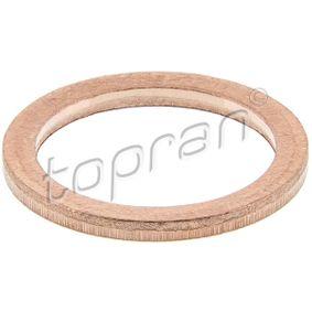 Anello di tenuta, vite di scarico olio Ø: 16mm, Spessore: 1mm, Diametro interno: 12mm con OEM Numero 60805415