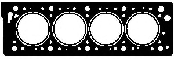 GLASER  H07312-00 Dichtung, Zylinderkopf