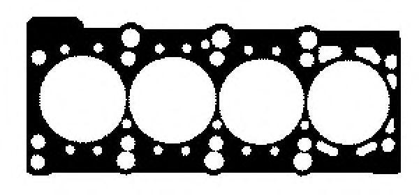 GLASER  H80006-00 Dichtung, Zylinderkopf