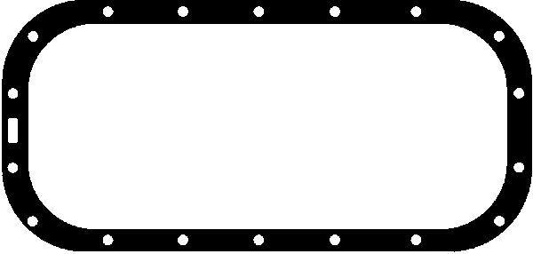 GLASER  X03832-01 Dichtung, Ölwanne