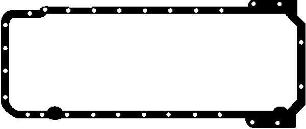 GLASER  X54095-01 Dichtung, Ölwanne