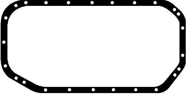 GLASER  X54101-01 Dichtung, Ölwanne