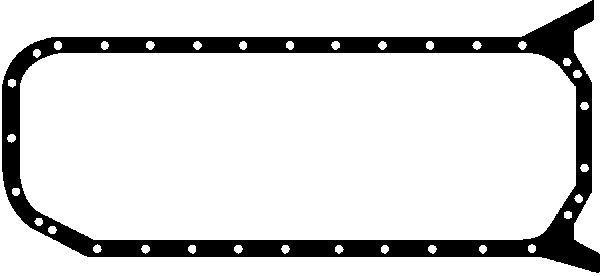 GLASER  X54106-01 Dichtung, Ölwanne