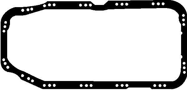 GLASER  X54120-01 Dichtung, Ölwanne