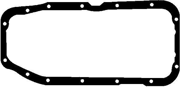 GLASER  X54121-01 Dichtung, Ölwanne