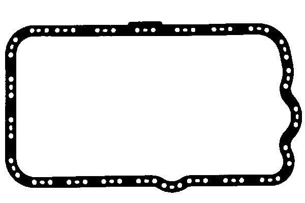 GLASER  X54219-01 Dichtung, Ölwanne