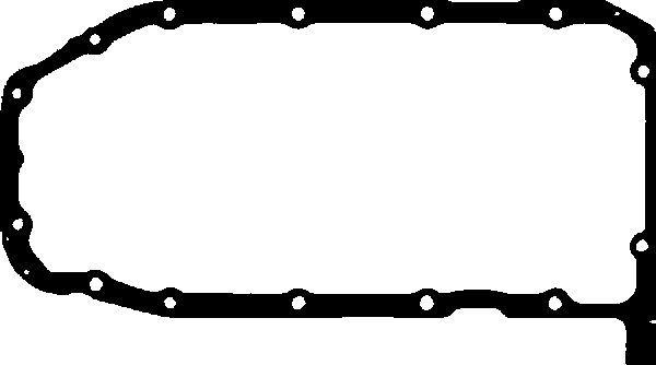 GLASER  X54360-01 Dichtung, Ölwanne