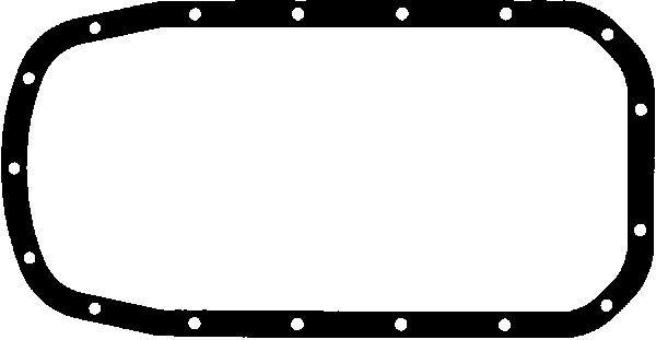 GLASER  X54378-01 Dichtung, Ölwanne
