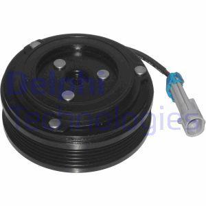 DELPHI Acoplamiento magnético, compresor del aire acondicionado 0165003/0
