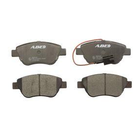 Bremsbelagsatz, Scheibenbremse Breite: 122,8mm, Höhe: 53,3mm, Dicke/Stärke: 18mm mit OEM-Nummer 77364393
