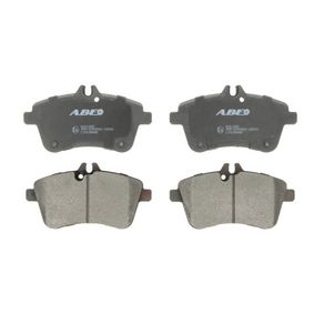 Brake Pad Set, disc brake Width: 131,8mm, Height: 70mm, Thickness: 19,5mm with OEM Number A 169 420 0120