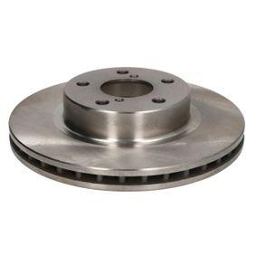 Bremsscheibe Bremsscheibendicke: 24,0mm, Lochanzahl: 5, Ø: 260mm mit OEM-Nummer 26310 AA021