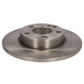 Bremsscheibe Bremsscheibendicke: 12,0mm, Lochanzahl: 5, Ø: 276mm mit OEM-Nummer A169 421 0012