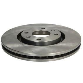 Bremsscheibe Bremsscheibendicke: 26mm, Lochanzahl: 4, Ø: 283mm mit OEM-Nummer 4246-W8