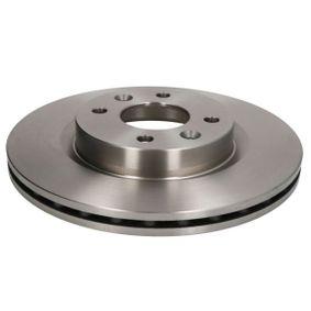 Bremsscheibe Bremsscheibendicke: 20,6mm, Lochanzahl: 4, Ø: 259mm, Ø: 259mm mit OEM-Nummer 77012-05653
