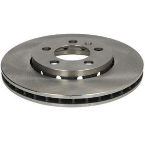 Bremsscheibe Bremsscheibendicke: 22mm, Felge: 5-loch, Ø: 256mm mit OEM-Nummer 1J0 615 301 L