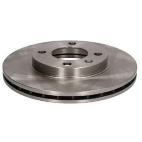 Bremsscheibe Bremsscheibendicke: 20mm, Lochanzahl: 4, Ø: 239mm mit OEM-Nummer 6N0615301G