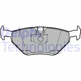 Bremsbelagsatz, Scheibenbremse Höhe: 44,9mm, Dicke/Stärke 2: 16,8mm mit OEM-Nummer 3421 2157 591
