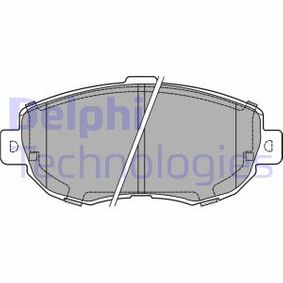 Bremsbelagsatz, Scheibenbremse Höhe: 63,8mm, Dicke/Stärke 2: 16,5mm mit OEM-Nummer 04465-22311