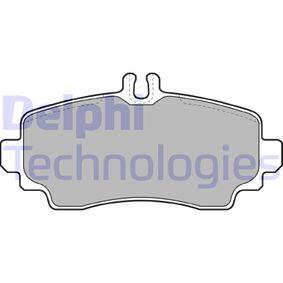 Sensor de Nivel de Combustible MERCEDES-BENZ CLASE A (W168) A 170 CDI (168.008) de Año 07.1998 90 CV: Juego de pastillas de freno (LP1401) para de DELPHI