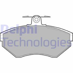 Bremsbelagsatz, Scheibenbremse Höhe 2: 70mm, Höhe: 70mm, Dicke/Stärke 1: 16mm, Dicke/Stärke 2: 16mm mit OEM-Nummer 1HM 698 151 A
