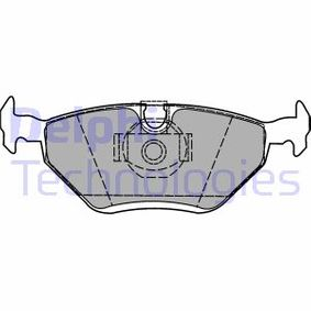 Bremsbelagsatz, Scheibenbremse Höhe: 44mm, Dicke/Stärke 2: 17mm mit OEM-Nummer 34216778168