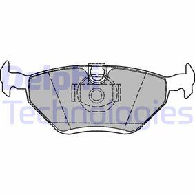 Bremsbelagsatz, Scheibenbremse Höhe: 44mm, Dicke/Stärke 2: 17mm mit OEM-Nummer SFP000380