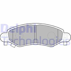 Bremsbelagsatz, Scheibenbremse Höhe 2: 44mm, Höhe: 44mm, Dicke/Stärke 1: 15mm, Dicke/Stärke 2: 15mm mit OEM-Nummer 4704578