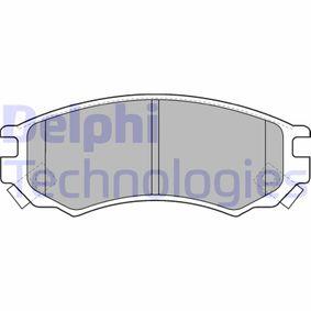 Bremsbelagsatz, Scheibenbremse Höhe: 52mm, Dicke/Stärke 2: 14mm mit OEM-Nummer D10600N685