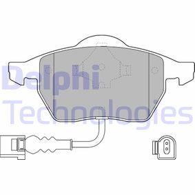 Brake Pad Set, disc brake Article № LP1525 £ 140,00