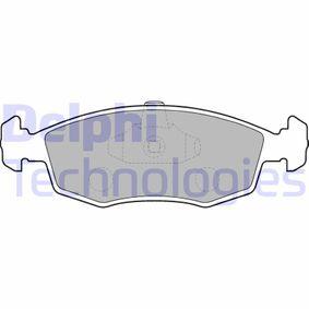 Bremsbelagsatz, Scheibenbremse Art. Nr. LP1549 120,00€