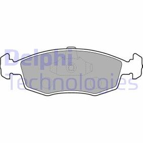 Bremsbelagsatz, Scheibenbremse Höhe: 53mm, Dicke/Stärke 2: 18mm mit OEM-Nummer 9948131