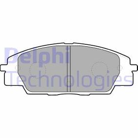 Brake Pad Set, disc brake Height 2: 52mm, Height: 52mm, Thickness 1: 16mm, Thickness 2: 16mm with OEM Number 45022S2AE50