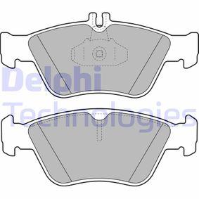 Bremsbelagsatz, Scheibenbremse Höhe 2: 66mm, Höhe: 60mm, Dicke/Stärke 2: 18mm mit OEM-Nummer A002 420 4420