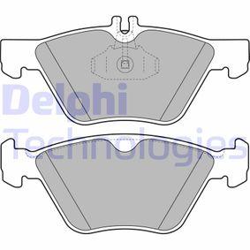 Bremsbelagsatz, Scheibenbremse Höhe 2: 69mm, Höhe: 63mm, Dicke/Stärke 2: 20mm mit OEM-Nummer 004 420 03 20.