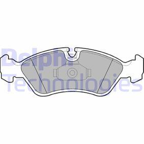 Bremsbelagsatz, Scheibenbremse Höhe 2: 53mm, Höhe: 53mm, Dicke/Stärke 1: 17mm, Dicke/Stärke 2: 17mm mit OEM-Nummer 90511162.
